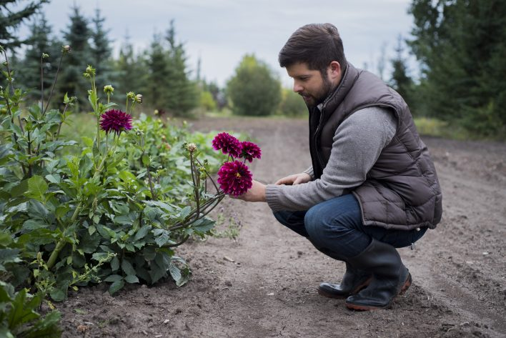Farm to Vase Floral Workshop at Birchwood Meadows