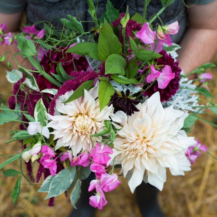 Dahlia Flower Arrangement Workshop