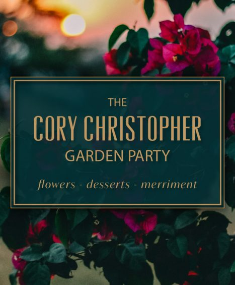 CC Garden Party – Aug 13, 2019 – EARLY BIRD