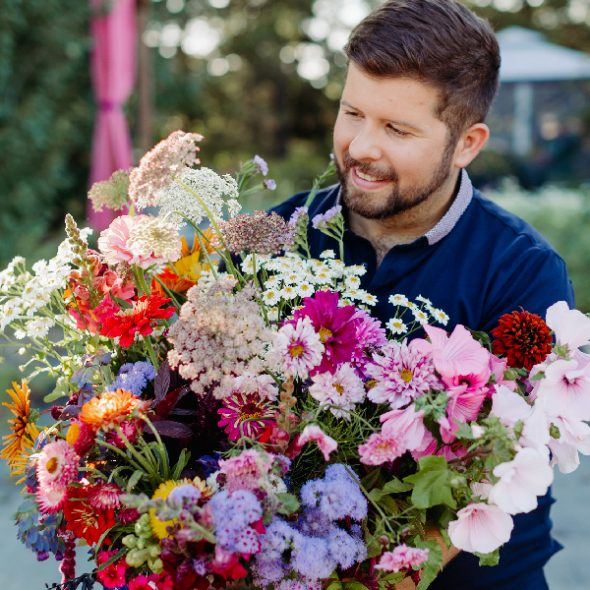 CC & Birchwood Meadows – Summer Floral Subscription